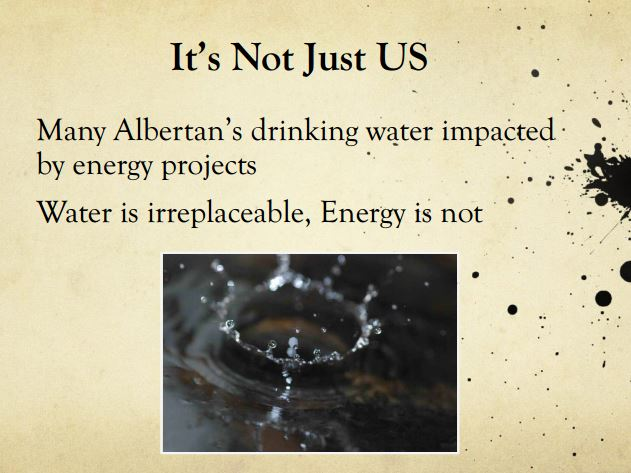2014 03 13 Diana Daunheimer Fracturing our lives and how it affects us all Water irreplaceable Energy not