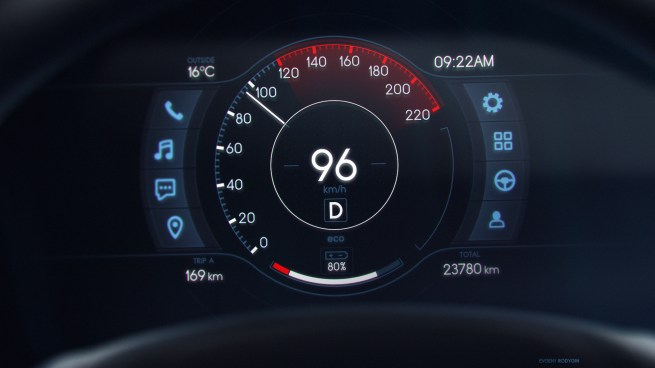 Car Speedo