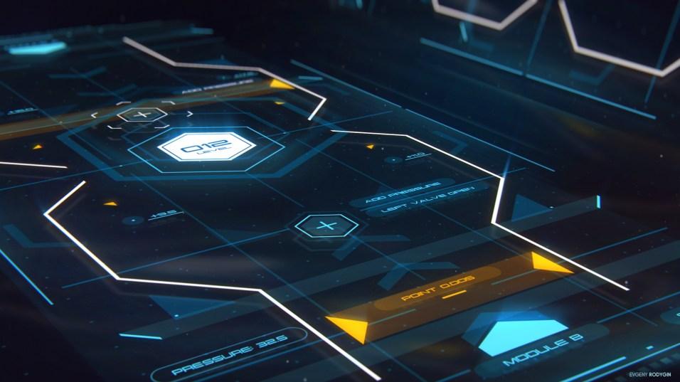 Control Unit - FUI Concept