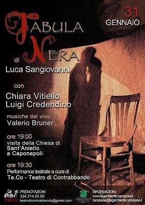 Fabula nera di Luca Sangiovanni