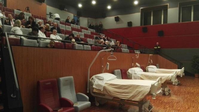 Gemelli di Roma, primo ospedale in Italia con un cinema evi