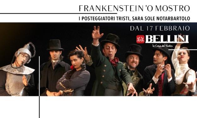 Frankenstein 'o mostro: i Posteggiatori Tristi a teatro