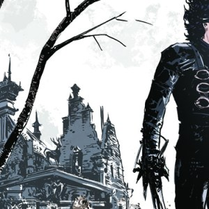 Edward mani di forbice diventa una graphic novel NPE
