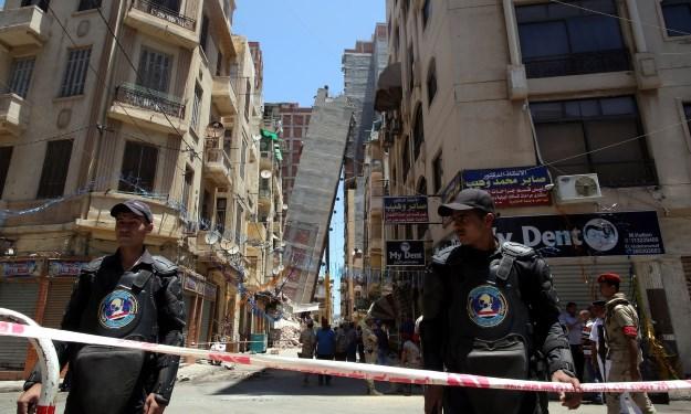 Edilizia abusiva ad Alessandria d'Egitto
