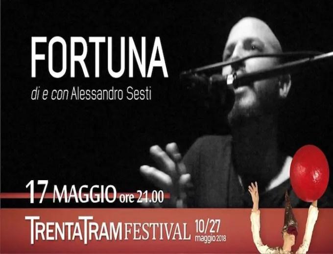 """""""Fortuna"""" di Alessandro Sesti al TRAM: storia di un ossimoro"""