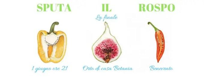 """""""Sputa il Rospo"""", finale Campania del campionato italiano di Poetry Slam"""