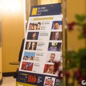 Teatro Augusteo: presentazione del cartellone teatrale 2018-2019