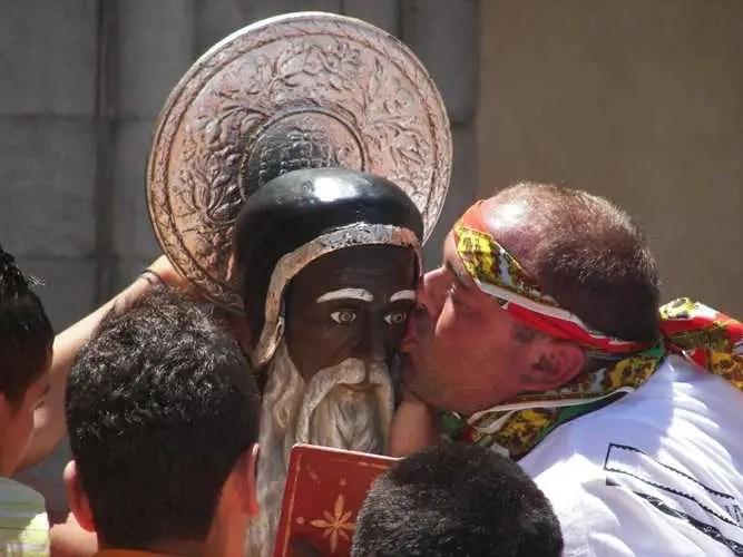 San Calogero, la festa del santo nero ad Agrigento