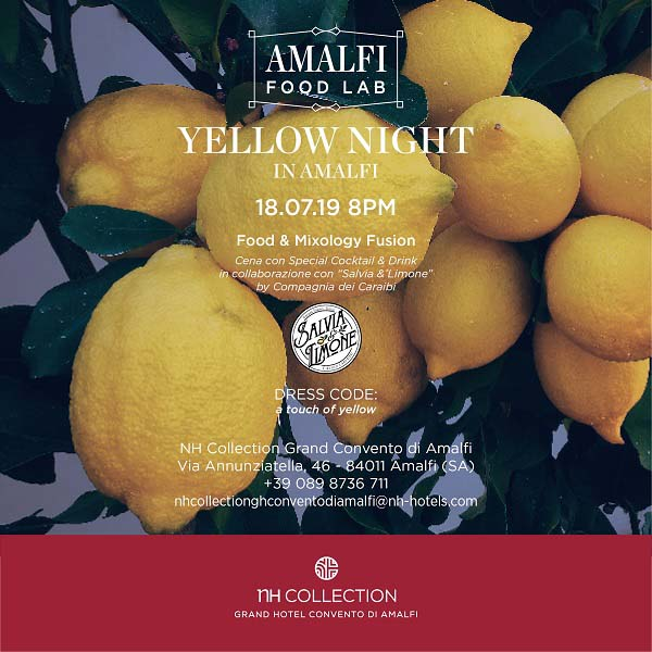 Yellow Night in Amalfi