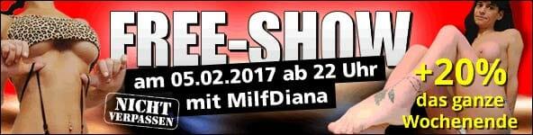 Free Show mit MILFDiana