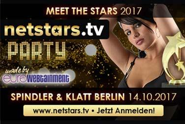 Netstars TV Party - Feier mit den Erotikstars und Erotikmodels
