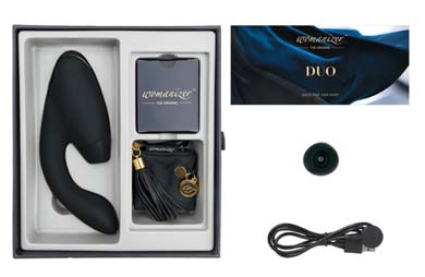 Sextoys im Test: Pulsator & Vibrator Womanizer Duo