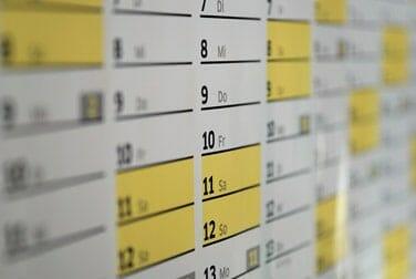 Sex nach Kalender - dein erotischer Wochenplan