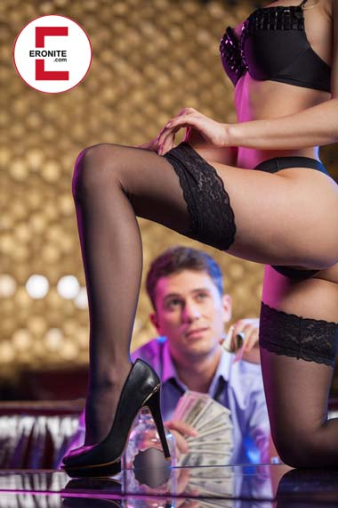 Stripping for your boyfriend