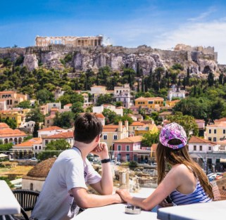 A Story of history and wine: Athens & Santorini