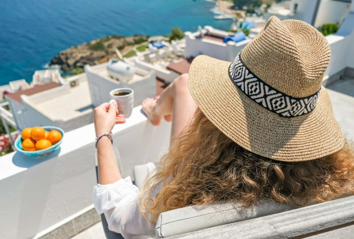 From extravagance to tranquillity: Athens, Folegandros & Santorini