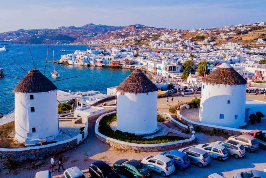 mykonos-windmills-plan-a-honeymoon-trip-to-Greece