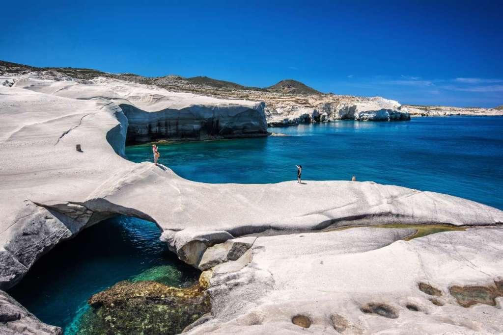 Milos-Sarakino-beach- s_kaisu-shutterstock