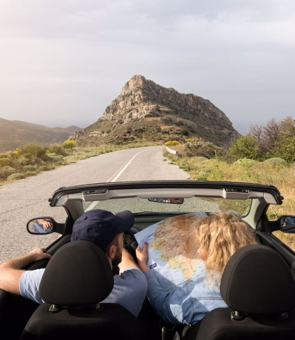 The Most Romantic Road Trips in Greece