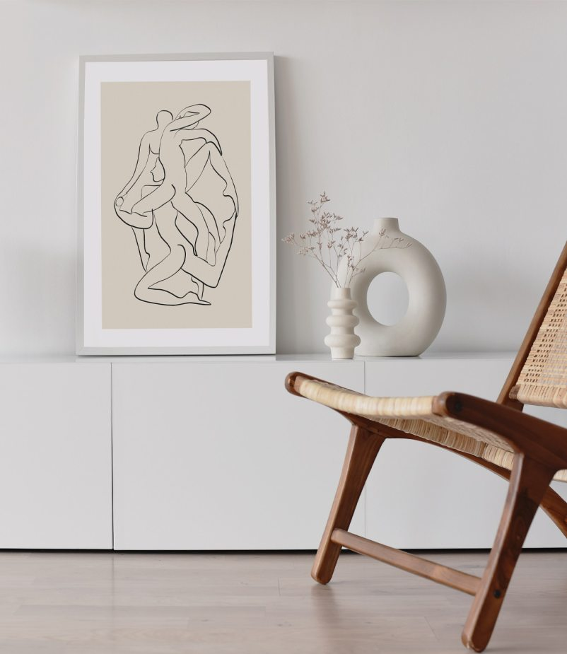 Ensemble in Contemporary Art Collection is a minimalistic yet powerful piece expressing how individual action can drive collective change for sustainable living and conscious lifestyle.