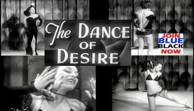 "Stripper ""Dance of Desire"" 1940s Restored and Enhanced Rare Video"