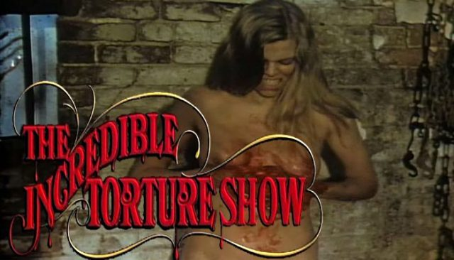 The Incredible Torture Show (1976) watch online