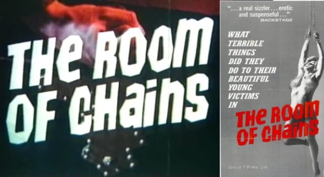 The Room of Chains (1970) online movie
