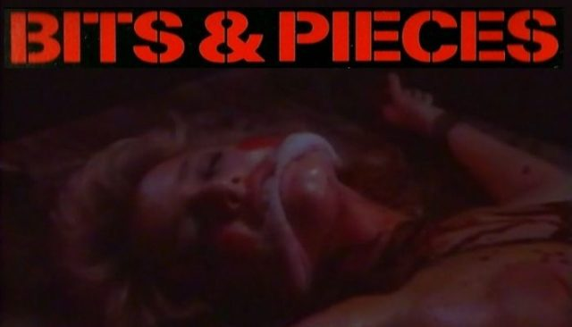 Bits and Pieces (1985) online rare horror