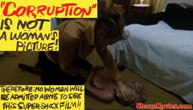 Corruption (1968) watch Peter Cushing's cult