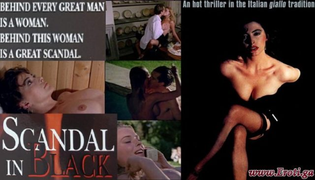 Scandal in Black (1990) watch online