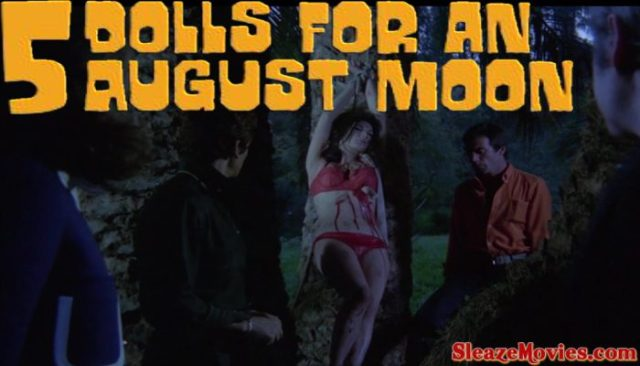 5 Dolls for an August Moon (1970) watch online