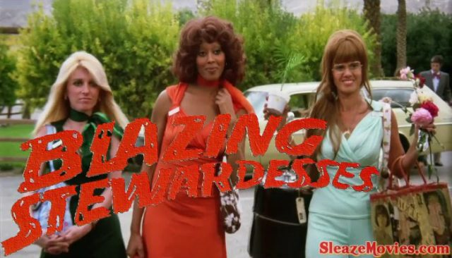 Blazing Stewardesses (1975) watch uncut