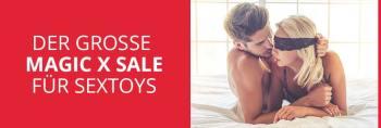 Sexy Schnäppchen im magic-x Sale für Sextoys