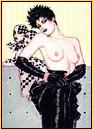 Olivia De Berardinis original lithograph of a female seminude