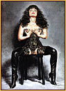 Olivia De Berardinis original ciclée impression of a female seminude