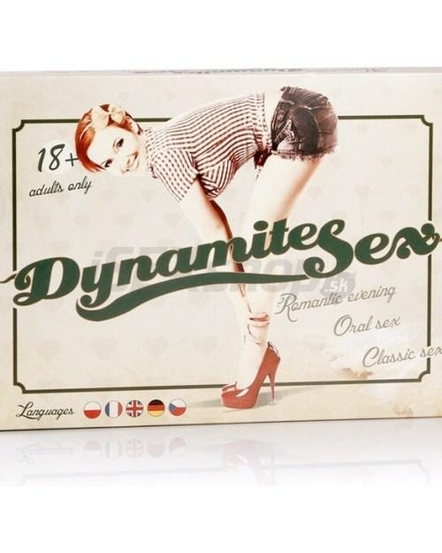 Eroticmania Dynamite sex - Erotická hra