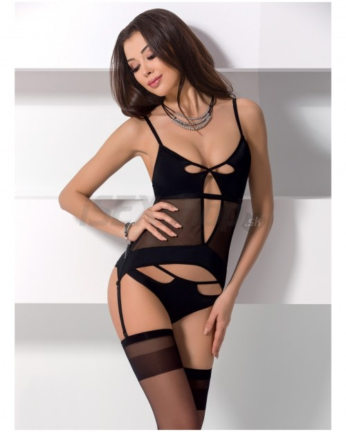Eroticmania PASSION Erotický korzet Nadya corset
