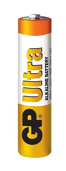 GP - batérie ULTRA alkalické AAA 1