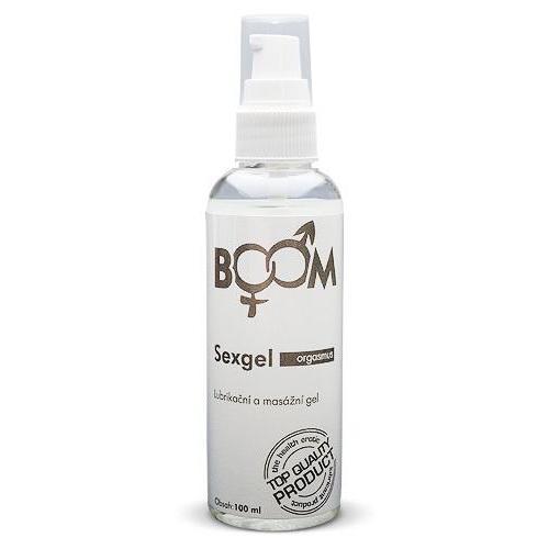 BOOM SexGel lubrikačný gél 100 ml - ORGASMUS