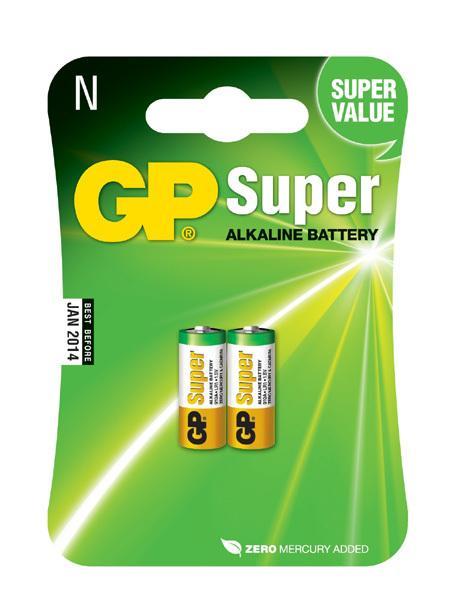 GP - batérie SUPER alkalické 910A (N) 1