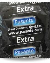 Pasante zosilnené kondómy Extra - 1 ks