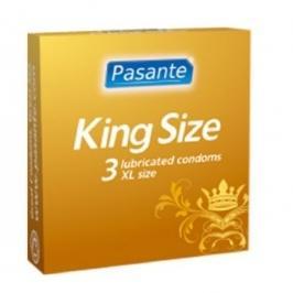 Pasante kondómy King Size 60 mm - 3 ks