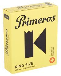 Primeros King Size kondómy 3 ks