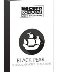 Secura kondómy Black Pearl 12 ks
