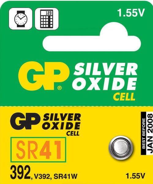GP - gombíková batéria LR41 / GP 392 - 1 ks