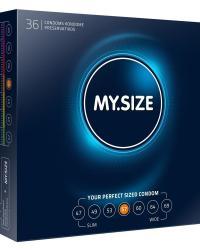 My.Size kondómy 57 mm - 1 ks