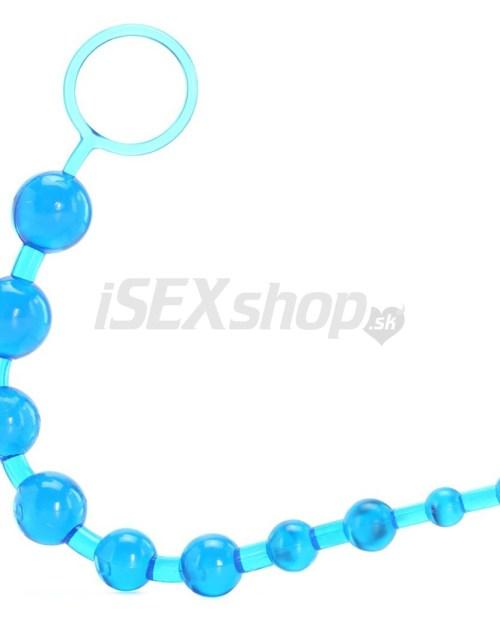Eroticmania ToyJoy Thai Toy Beads - modré