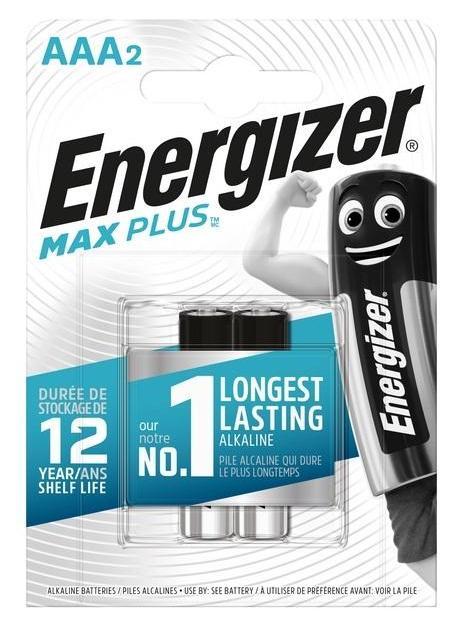 Energizer MAX Plus - Mikrotužkové batérie AAA/2ks