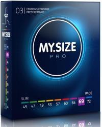 My.Size Pro kondómy 69mm - 3 ks