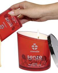 Swede Senze Teasing masážna sviečka 150 ml - provokujúca